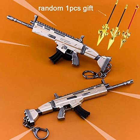 Amazon.com: mankecheng juegos metal SCAR automático rifle ...