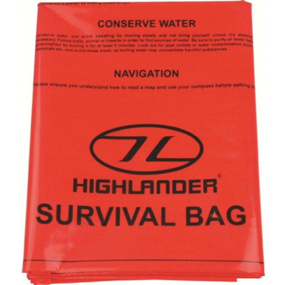 Highlander Double Survival Waterproof Bivi Bag / Improvised Shelter HIGIH|#Highlander CS036