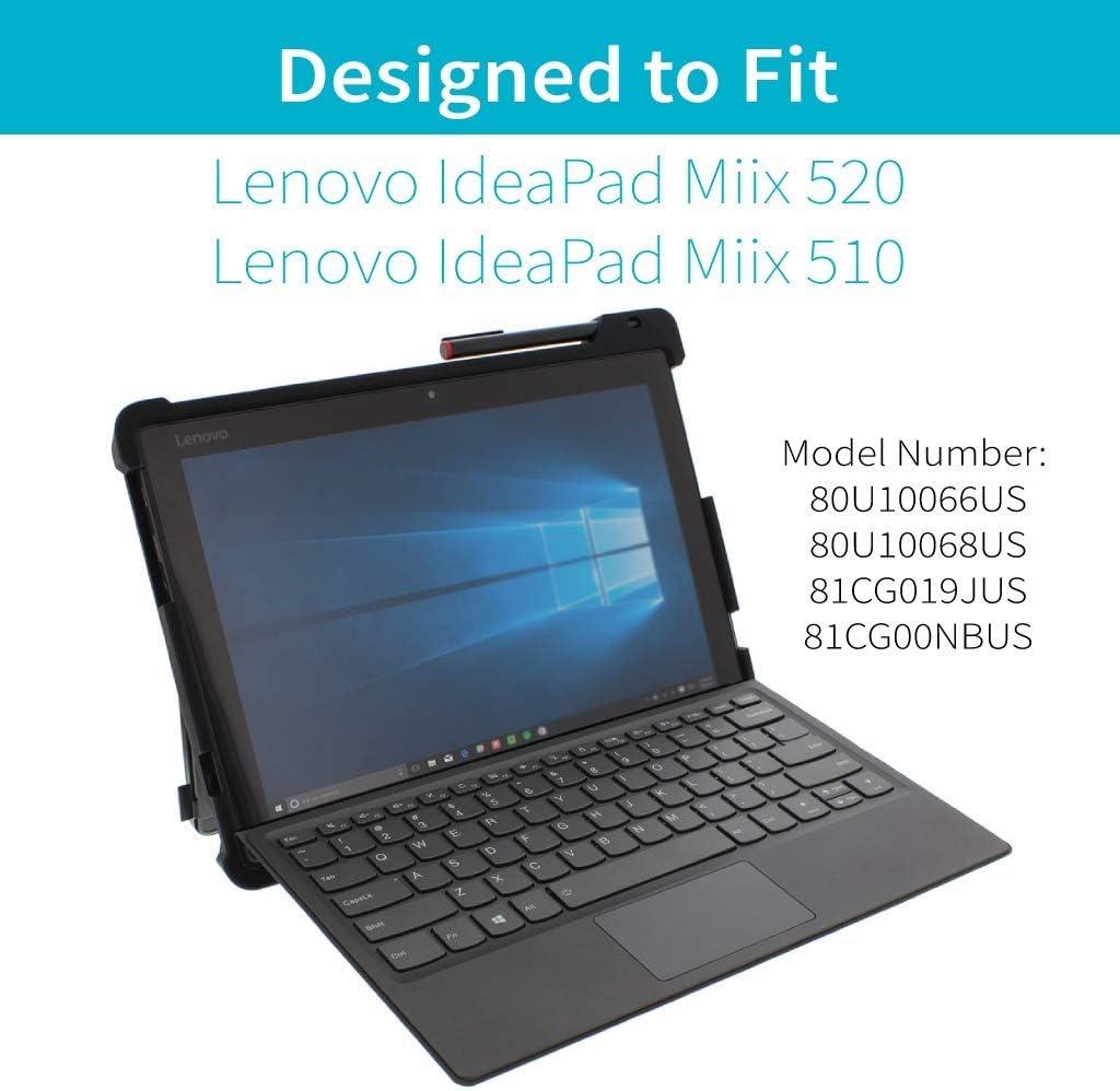 Amazon.com: Gumdrop Cases droptech Funda para Lenovo Miix ...