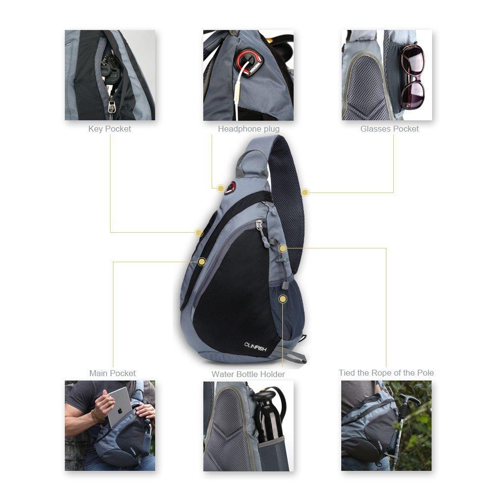 65c8b99ea9 Mua sản phẩm CLINFISH Sling Backpack