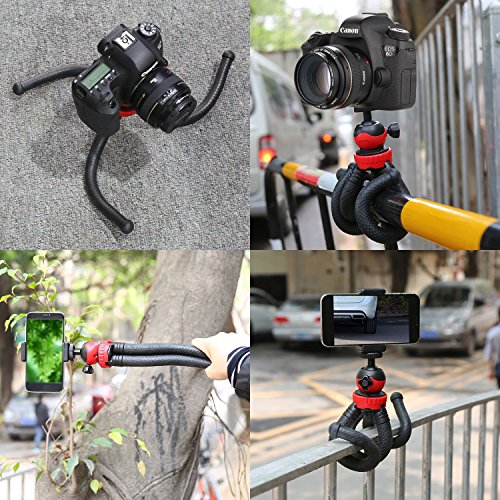 Flexible Tripod iPhone Cell Phone Tripod with Bluetooth