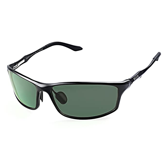 3461e2e2d6c0 Image Unavailable. Image not available for. Colour  DUCO Men s Driving  Sunglasses Polarised Glasses Sports Eyewear Fishing Golf Goggles 8201