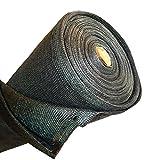 ALEKO® 6' x 150' Dark Green Fence Privacy Screen Windscreen Shade Cover Mesh Fabric Roll with Lock Holes
