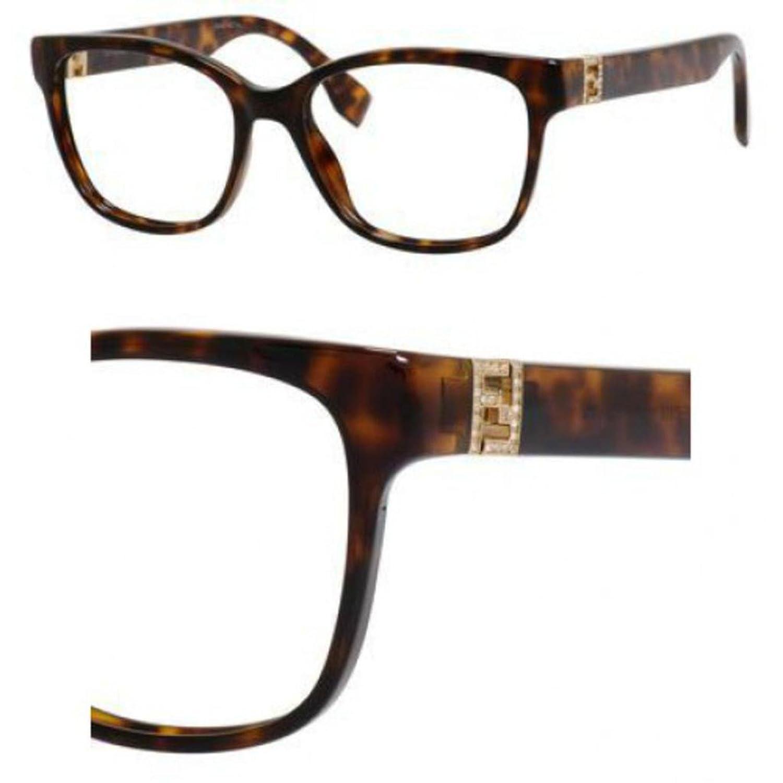 Fendi Brillen Für Frau 0113 EDJ, Tortoise Kunststoffgestell: Amazon ...