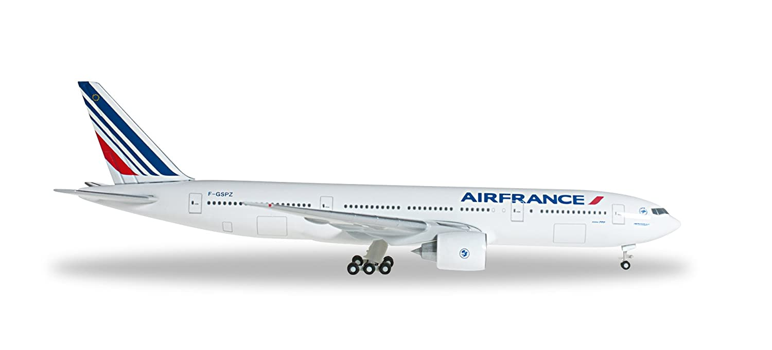 Daron Herpa 527248 Air France Boeing 777 200 1 500 Scale Model Reg# F GSPZ