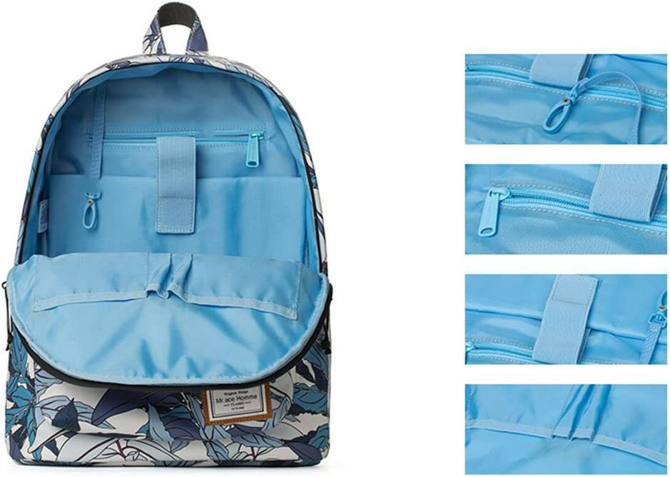 QIDI Backpack Waterproof Casual Travel High Capacity Polyester 30 17 40cm