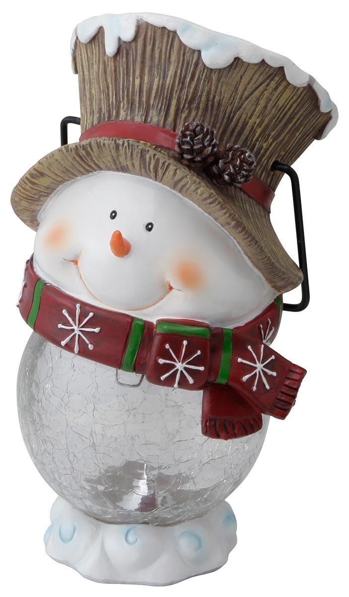 Hanging Snowman, Solar Light, Japan Import