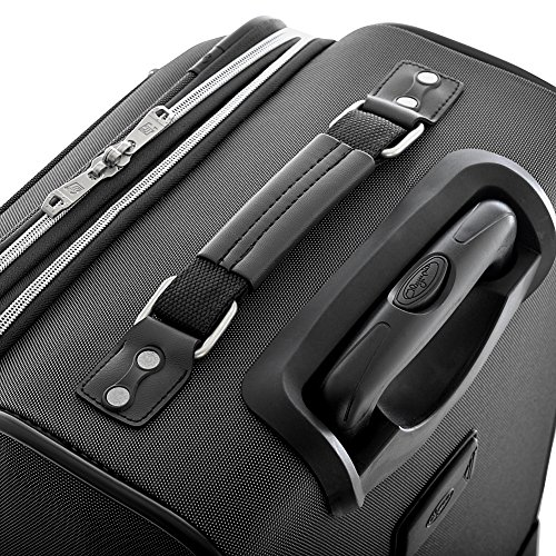 Olympia Luggage Skyhawk 22 Inch Expandable Airline Carry-On,Black,One Size by Olympia (Image #5)