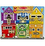 Melissa & Doug Latches Wooden Activity Board