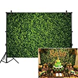 Allenjoy 7x5ft Green Leaves Wall Backdrop for Photography Grass Floordrop pictures Background Spring Safari Party Ground Decor Outdoorsy Theme Newborn Baby Shower Lover Wedding Photo Studio Props Drop