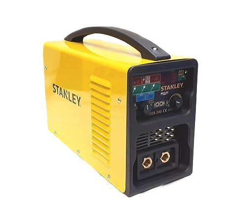 Stanley SUPER 180 TIG - Equipo de soldadura (4,2 W, 230 V), color amarillo y negro: Amazon.es: Bricolaje y herramientas