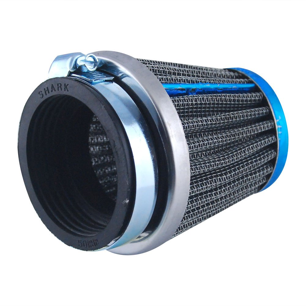 EXCELLENT SHOPPING 50mm Engine Inlet Rubber Motobike Air Filter Intake Induction Kit for Custom Cafe Racer Bobber BMW Triumph Buell Norton