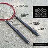 EXO Impulse Jump Rope (Black)