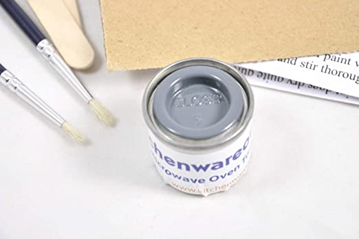 Microwave Touch up paint kit grey [MWO