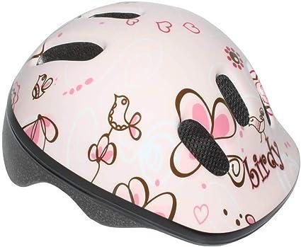 Casco de Bicicleta Enfant-Bebe Polisport Birdy, Color Rosa, tamaño ...