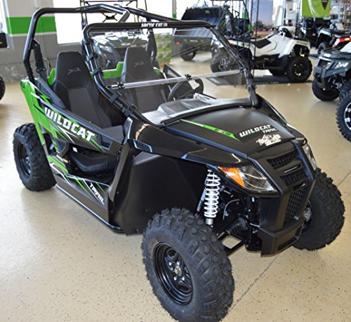 Arctic Cat Wildcat TRAIL / Sport - Full Folding Scratch Resistant UTV Windshield. The Ultimate in Side By Side Versatility!Premium Polycarbonate w/ Hard CoatMade in America!! by Clearly Tough (Image #3)