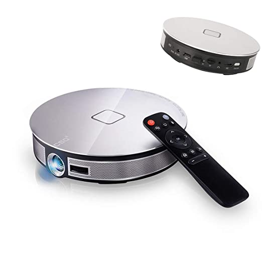 XZGG Mini Proyector WiFi Bluetooth HD Proyector Portatil con ...
