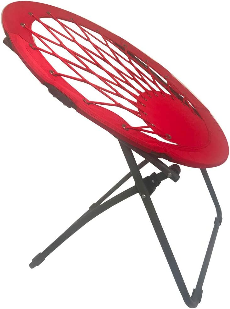 Impact Canopy 460060004 Portable Web Folding Bungee Chair Red