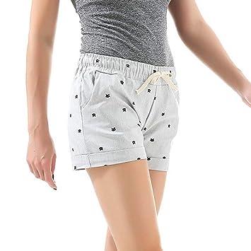 NSDKFF Pantalones Cortos De Mujer La Mujer Shorts Deportivos ...