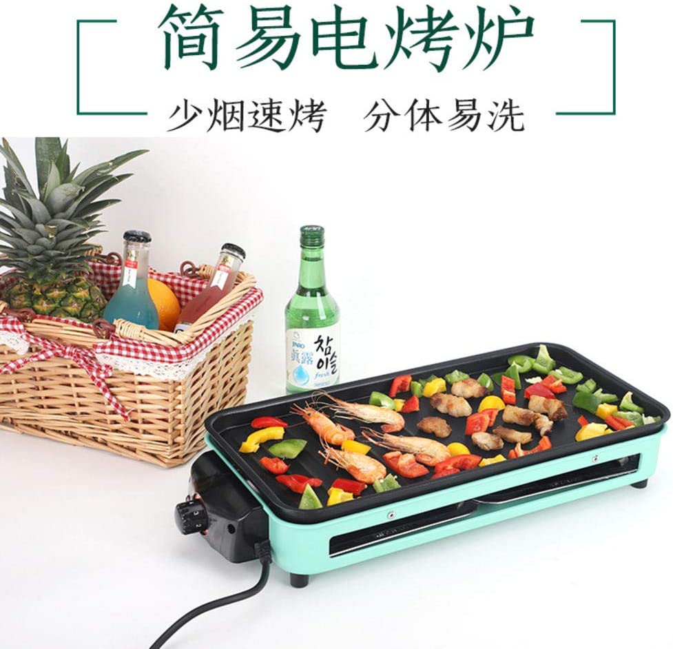 Indoor Balcony Electric Barbecue Appliance Home Appliance Smokeless Barbecue Stove Portable Separation and Disassembly Barbecue Grill