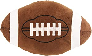 XIZHI 11 inch Football Plush Pillow Fluffy Stuffed Throw Pillows Football Sports Ball Pillow Soft Durable Sports Toy Sofa Room Decoration