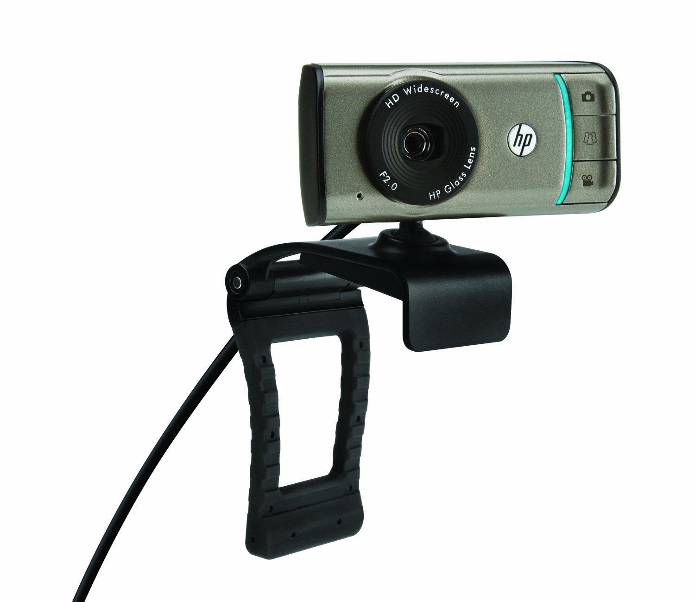 HP Webcam HD-3100-720P Widescreen Webcam with TrueVision