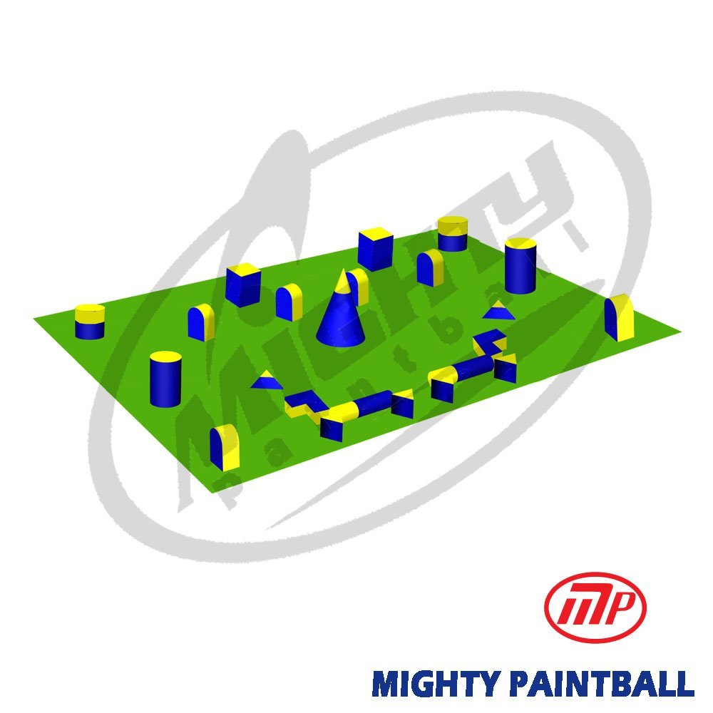 MP Paintball Bunker Package - 5 Man Standard Field (MP-ST-5MAN) by MP - Mighty Products