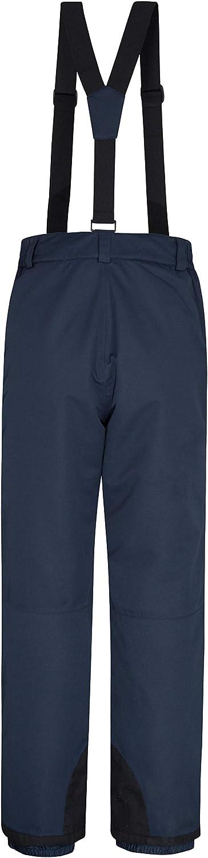 Salopette isolata Vestiti per Vacanze Invernali Caldi con Cuciture Nastrate Pantaloni da Sci Impermeabili Mountain Warehouse Pantaloni da Snowboard Luna da Uomo