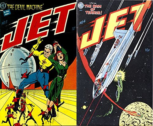 Jet Powers. Issues 3 and 4. Includes The devil machine and the rain of terror. Golden Age Digital Comics Science Fiction