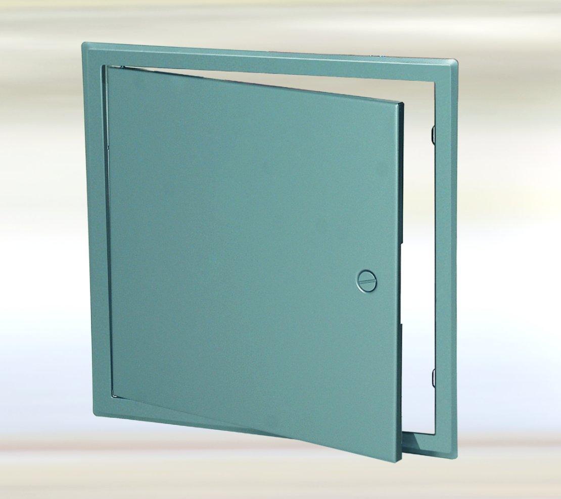 FF Systems Inc 20'' X 20'' Access Door/Panel BIG- Series Sheet Metal Grey Powder Coat Screwdriver Operated Cam-Lock
