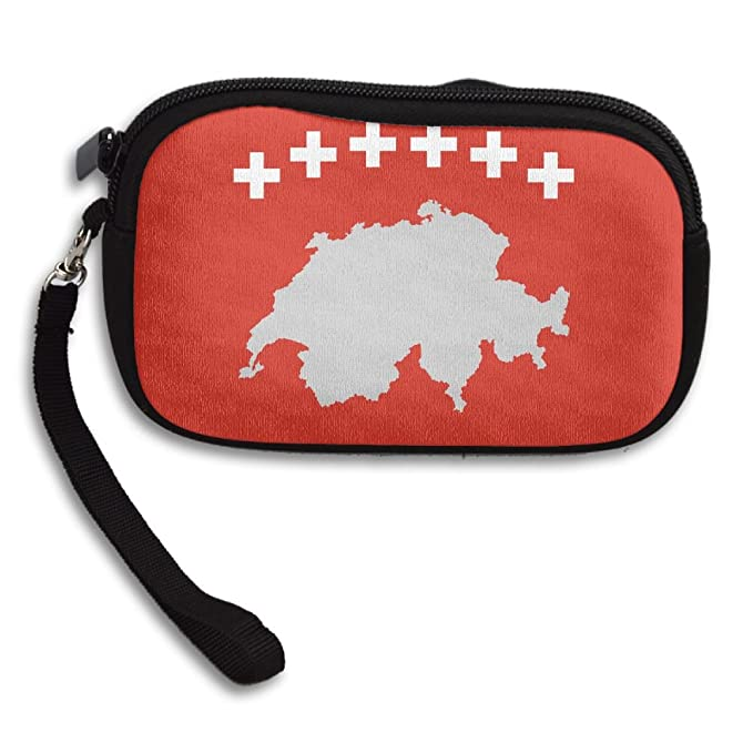 Amazon.com: Bandera de Suiza Women s Fashion Monederos ...