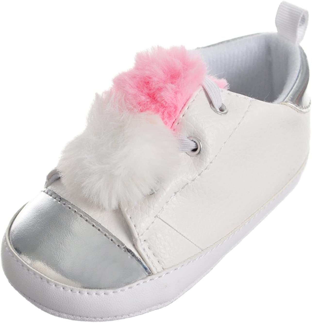 Stepping Stones First Steps Baby Girls Sneaker Booties