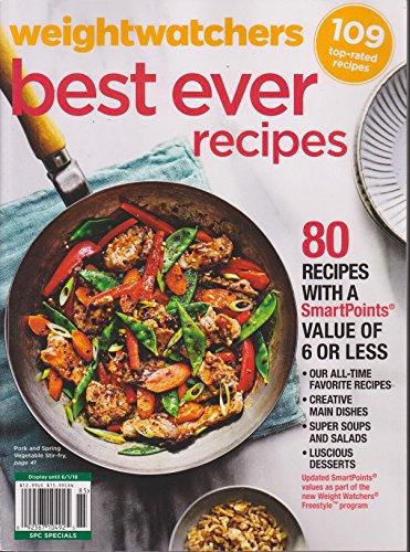 Weightwatchers Magazine Best Ever Recipes Spring 2018