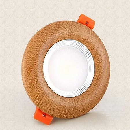 Lyuez Sólido Madera China Downlight LED sin Flash luz del ...
