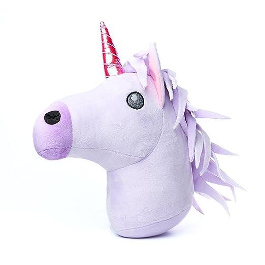 Emoji® - Emoticono de Unicornio con Purpurina, Super Suave ...