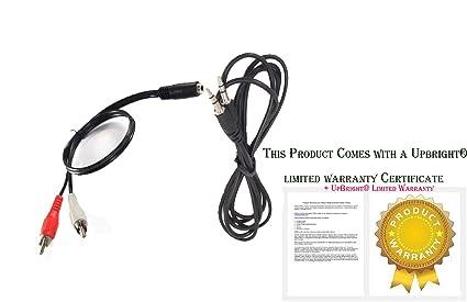UpBright AUX Audio Cord For VIZIO VSB210 VSB210WS VSB211 VSB211-Z VSB212 VHT210 VHT210-