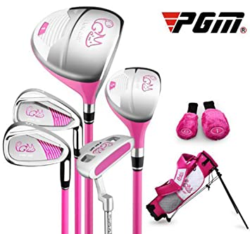Crestgolf PGM Pickcat Set de Golf para niños, 5 Palos con ...
