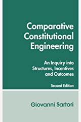 Comparative Constitutional Engineering (Second Edition): Second Edition Pasta blanda