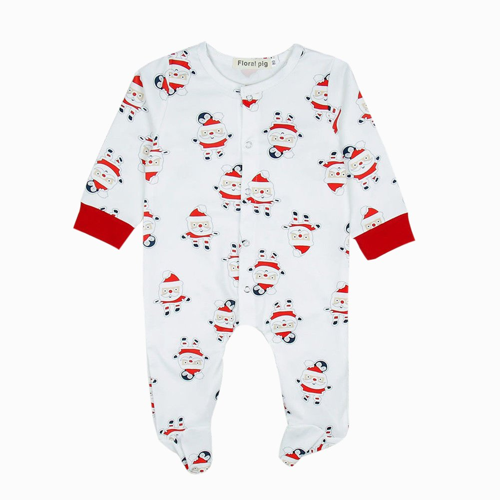 5061240579ce Amazon.com  Enhill Infant Newborn Baby Boy Girl Christmas Romper ...