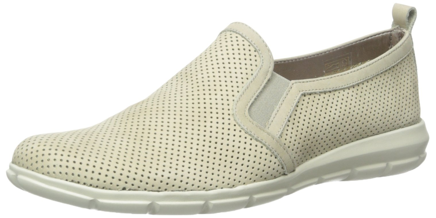The Flexx Women's Lights Slip-On Loafer, Linen Nubuck Foro, 7 M US by The FLEXX