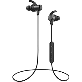 SoundPEATS Magnetic Wireless Earbuds Bluetooth Headphones Sport in-Ear Sweatproof Earphones with Mic (High Fidelity Sound, IPX6, Bluetooth 4.1, aptx, ...