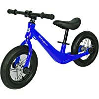"""Kids Balance Bike for 2,3,4 and 5 Years Old No Pedal Bicycle, 12"""" Beginner Toddler Bike with Air Tires and Adjustable…"""