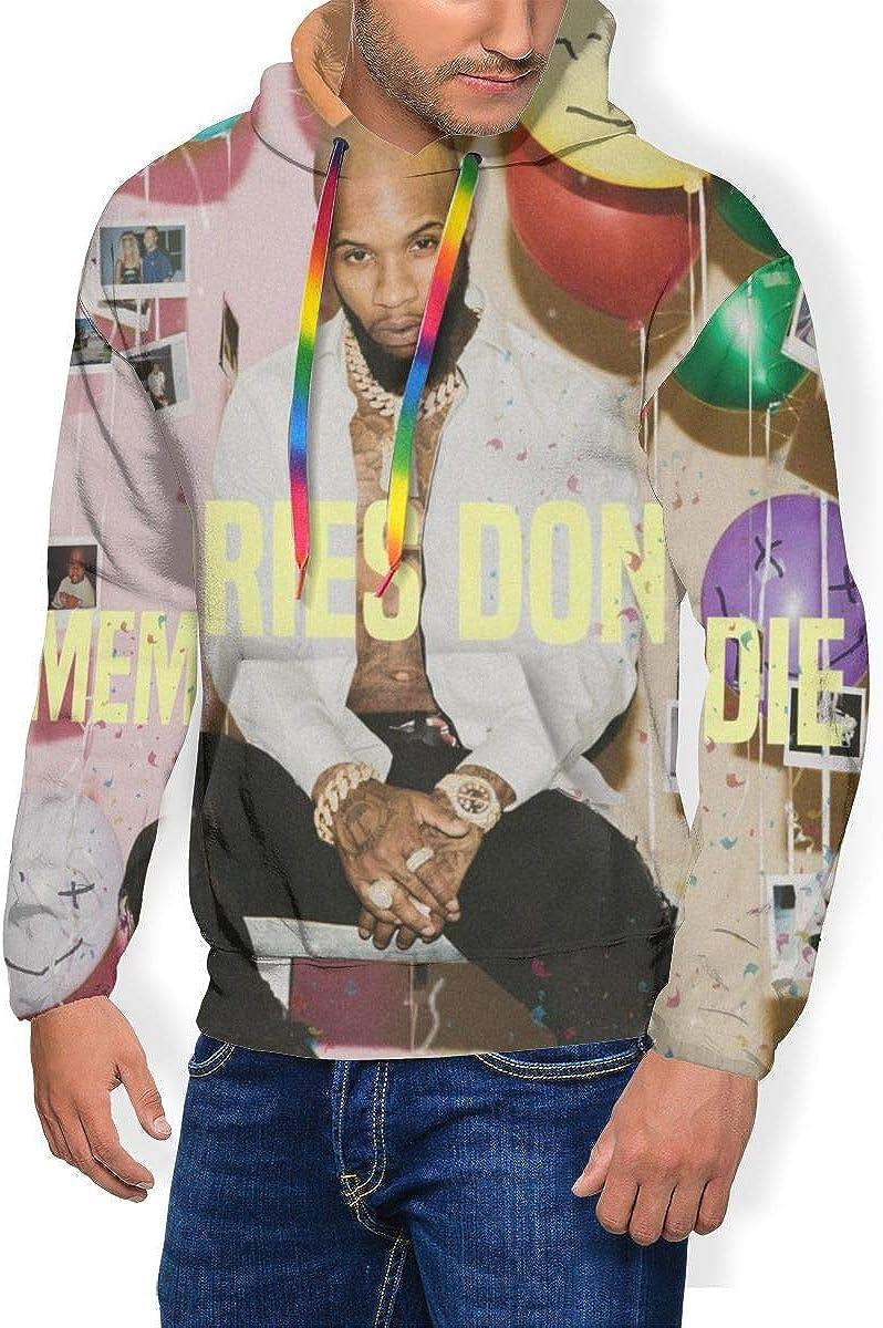Tory Lanez Memories Dont DIE Mens Long Sleeve Personality Jacket Hoodie Sweatshirt Plus Velvet Black
