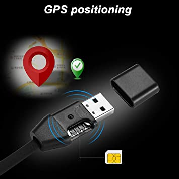 GPS Dispositivo Tracker System Cargador Micro USB Cable Android Locator Voice Listening gsm Seguimiento Tiempo Real