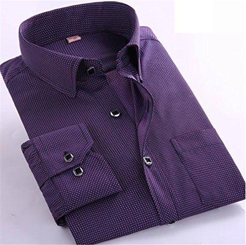 Musamk Dashing New Fashion Spring 2016 Classic Men Striped Dress Shirt Long Sleeve Turn-down Collar Regular-Fit Mens Shirts Designer Camisa 2116XXXL Asian size High - Girls Adelaide Asian