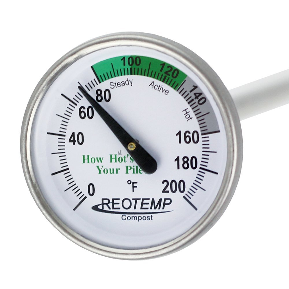 amazon com reotemp backyard compost thermometer 20