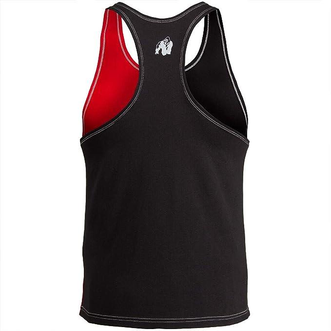 Bodybuilding Fitness Shirt Bodybuilding Sterlina Canotta da Uomo Gorilla Wear
