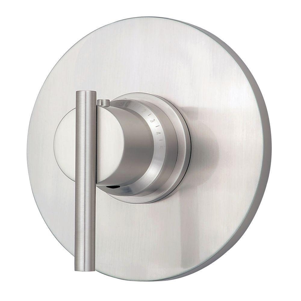 Danze D562058BNT Parma Single Handle 3/4-Inch Thermostatic Shower ...