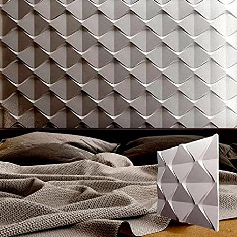 Buy Cheap *beauty* 3d Decorative Wall Panels 1 Pcs Abs Plastic Mold For Plaster Concrete Stamps, Forms & Mats