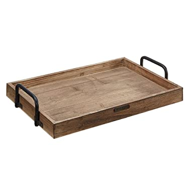 Magnolia Home by Joanna Gaines Wood & Metal Breakfast Tray